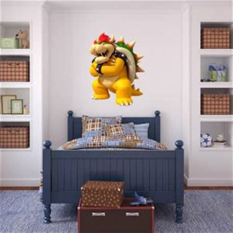 bowser mario bros decal removable wall sticker home