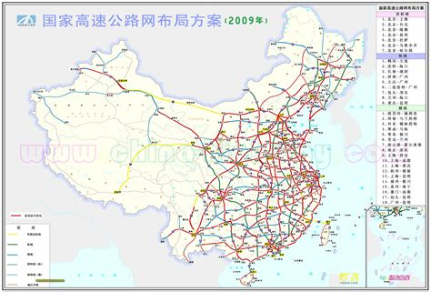 road map of china china road map 2009 size