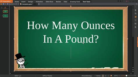 how many ounces in a pound youtube