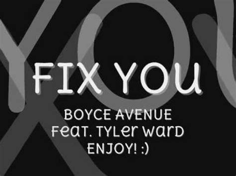 fix you boyce mp3 download fix you coldplay boyce avenue and tyler ward acoustic
