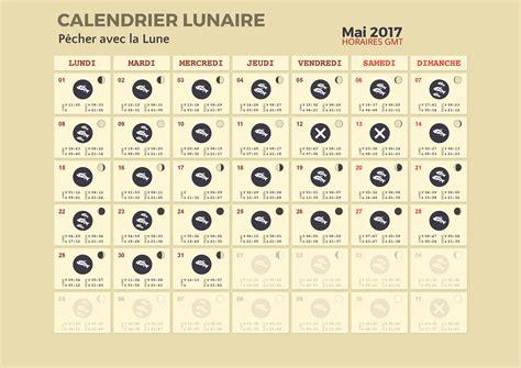 Calendrier Lunaire Mai Calendrier Lunaire Pour La P 234 Che P 234 Cher Avec La Lune
