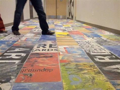 Ceramic Tile Bathroom Ideas Pictures art of board launches first ever recycled skateboard floor
