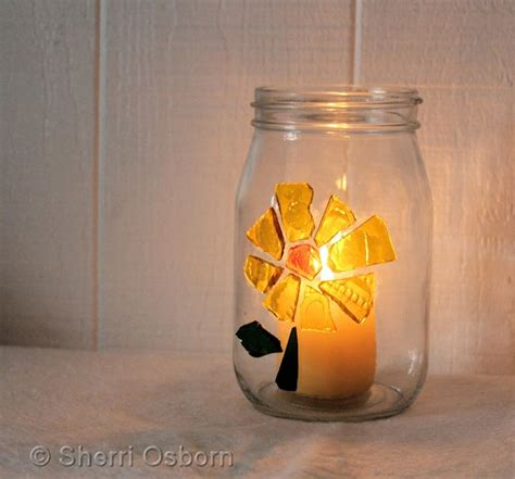 candle holder craft how to make a stained glass candle holder craft