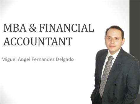 Mba Accounting Cpa by Financial Accountant Mba