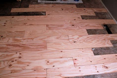 diy plywood plank flooring truths of a blessed