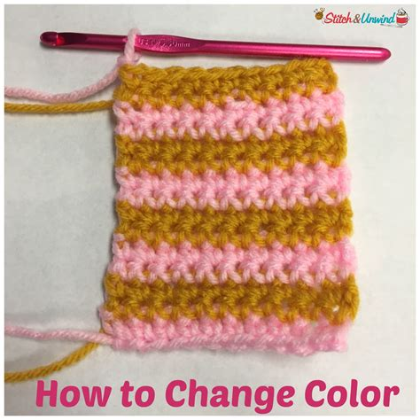 how to finish a row of knitting how to change color at the end of a row stitch and unwind
