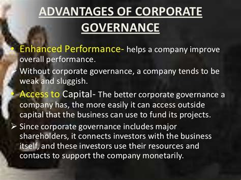 better corporate governance corporate governance