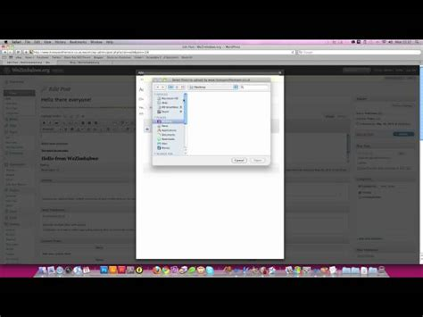 wordpress tutorial video free wordpress tutorial how to add images to posts and pages