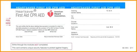 blank cpr card template cpr card template 5 best templates ideas
