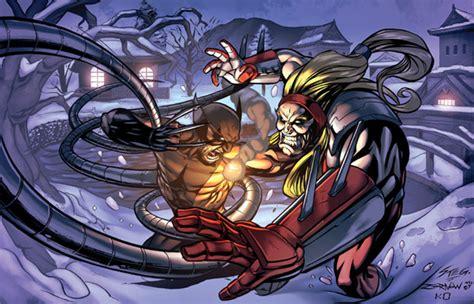 Wolverine Vs Omega Red by kieranoats on DeviantArt