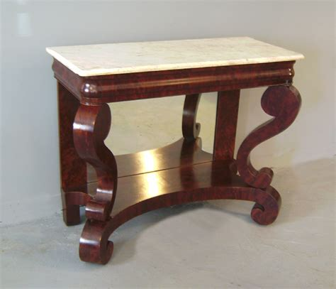 Console Table For Sale Classic American Empire Top Pier Ebay Sofa Table