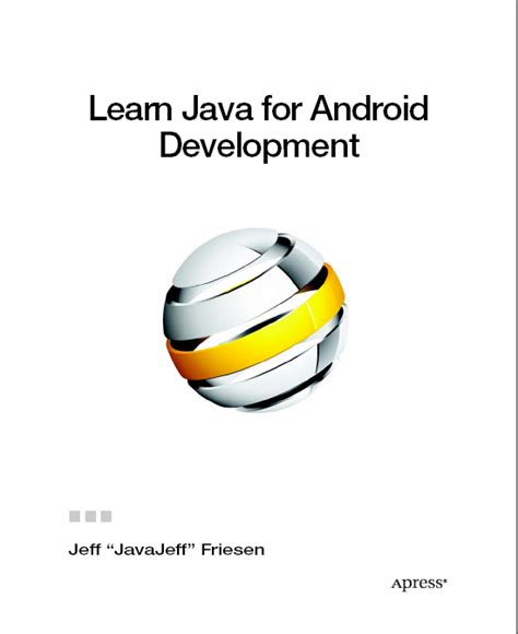 java android development book