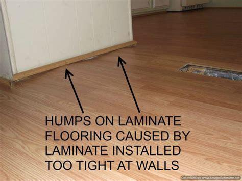 Bad Laminate Installation, Repair