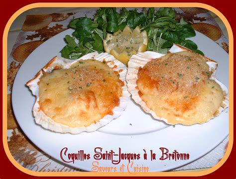 cuisiner coquilles st jacques coquille jacques 224 la bretonne blogs de cuisine