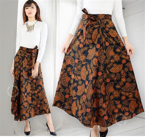 Atasan Brokat Lilit Skirt perkembangan model rok panjang batik kebaya info fashion