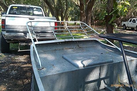 airboat grass rake building scotts grass rake southern airboat picture gallery
