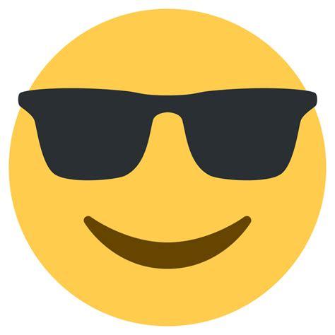 emoji vector file twemoji 1f60e svg wikimedia commons