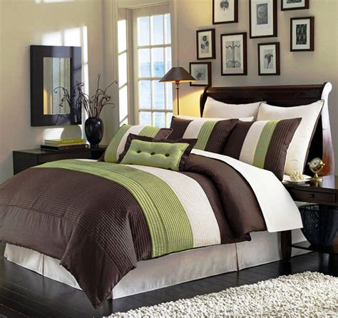 green and brown bedroom green bedding and bedroom decor ideas