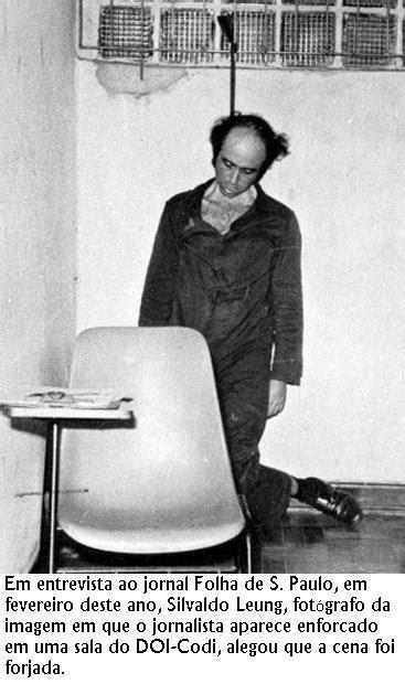 O assassinato de Herzog na arte   Jardel Dias Cavalcanti