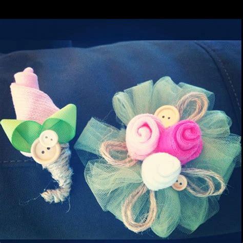 diy baby shower corsage baby sock corsage diy baby shower corsage ideas