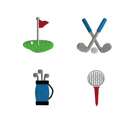 embroidery design golf mini golf embroidery designs for machine embroidery instant