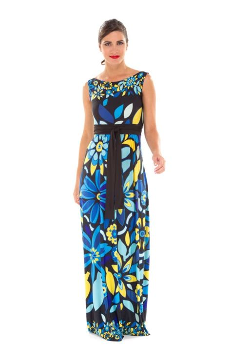 Celia Maxi celia maxi maternity dress in floral print by olian