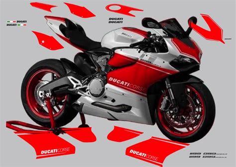 Ducati Corse Aufkleber Panigale by Vulturbike Ducati Panigale 899 1199 Superleggera Race