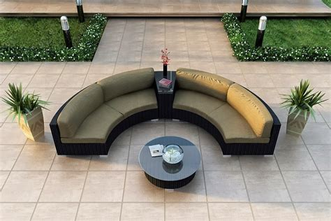 outdoor banquette seating curved banquette seating lovely and artful seating for any occasions homesfeed