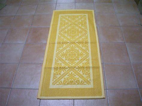 tappeto cotone tappeto cotone lavorazione meccanica disegno giglio