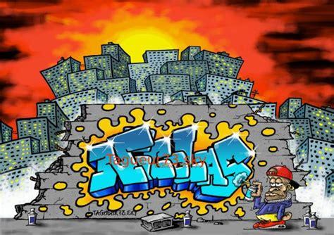 graffiti tag prenom nicolas bienvenue dans mon