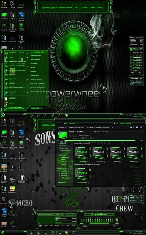 themes for windows 8 1 kickass hud green theme for windows 7 free download zoocharterp