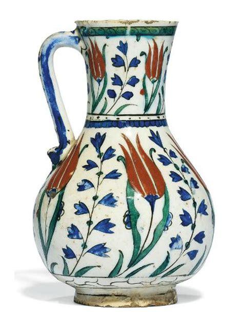 ottoman pottery an iznik pottery jug ottoman turkey circa 1580 231 inivazo