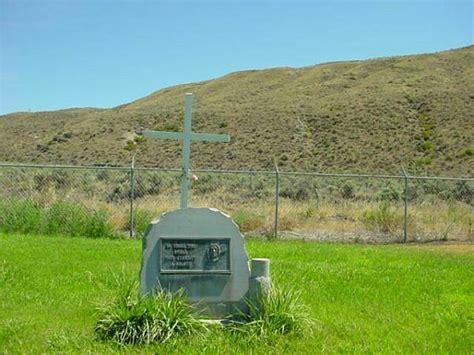 Okanogan County Records Fort Okanogan Cemetery Okanogan County Washington