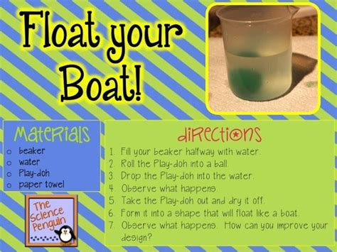 whatever floats your boat science project float your boat a buoyancy and density lab boats