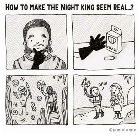 how to make the night king seem real id alk omg meme