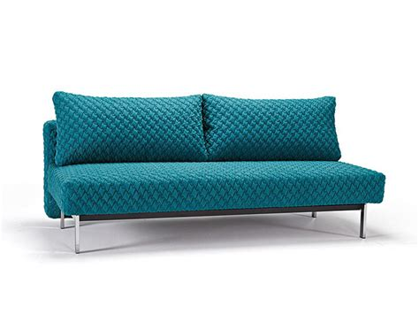 stylish sofa petrol blue contemporary sofa bed with texture upholstery
