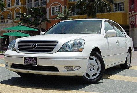 lexus car 2001 2001 lexus ls430 white car picture lexus car photos