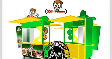 desain gerobak crepes desain logo logo kuliner desain gerobak jasa desain