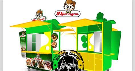 desain gerobak cendol desain logo logo kuliner desain gerobak jasa desain