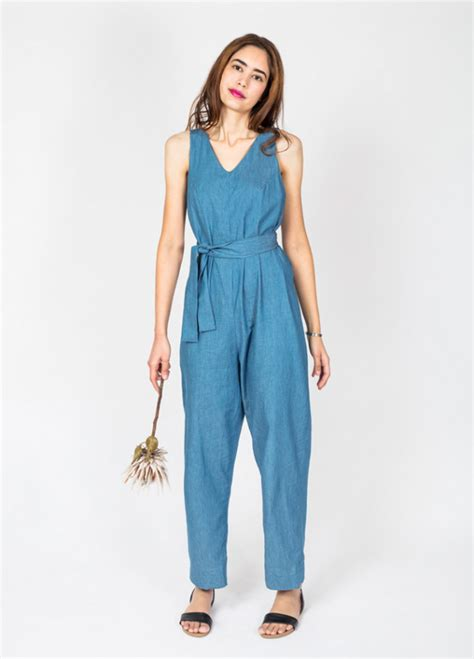 Jumpsuit Cotton Motif jumpsuit peppermint magazine