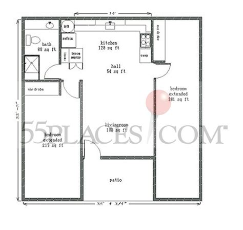leisure floor plans 950 floorplan 950 sq ft leisure world 174 seal