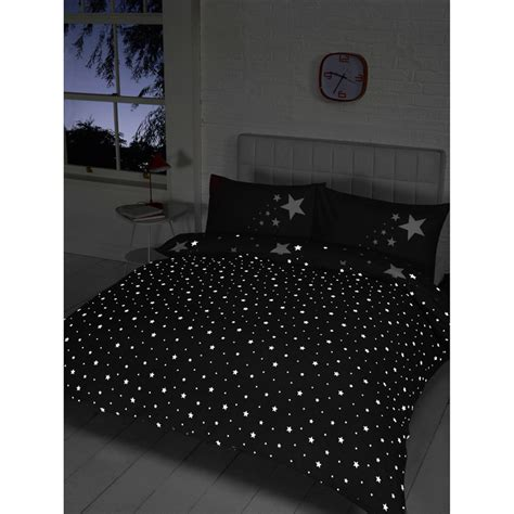 glow in the dark bedding glow in the dark double duvet set black bedding duvet sets