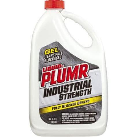 liquid plumr 128 oz industrial strength gel drain opener