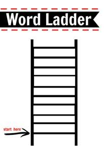 after school activity word ladders printable free