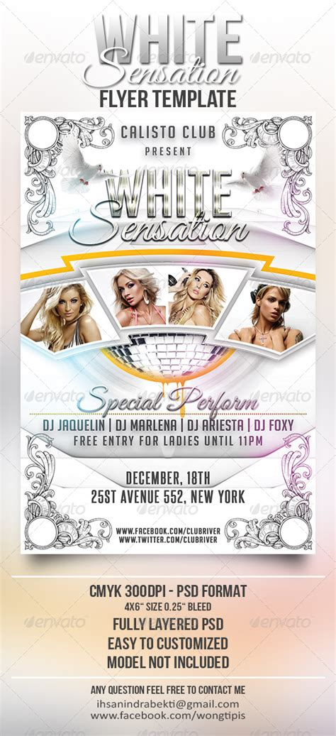 white flyer template free white flyer psd free 187 tinkytyler org stock