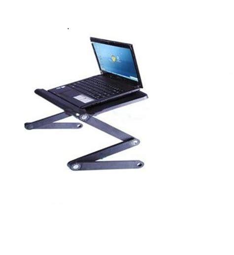Laptop Desk With Fan Vox Foldable Laptop Desk Table With Dual Cooling Fan