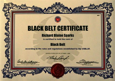 black belt certificate template untitled document www tnbjj