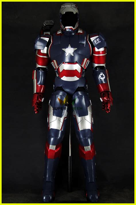 halloween cosplay iron patriot costumecosplay iron man