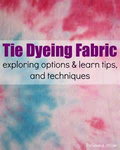 how to tie dye fabric tips techniques the sewing loft
