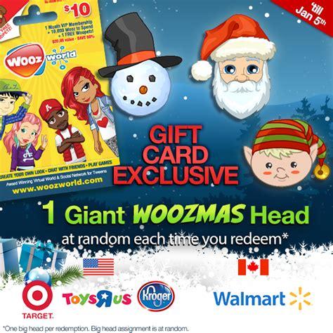 Woozworld Gift Card Codes 2014 - gift card festive update woozworld news
